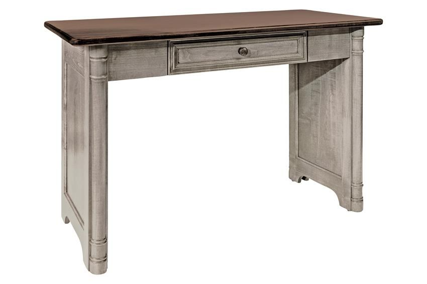 Amish Belmont Writing Desk Shipshewana Office Collection This Is Diffe Than Your Usual Solid Wood It Ideally Unique The Light Color And