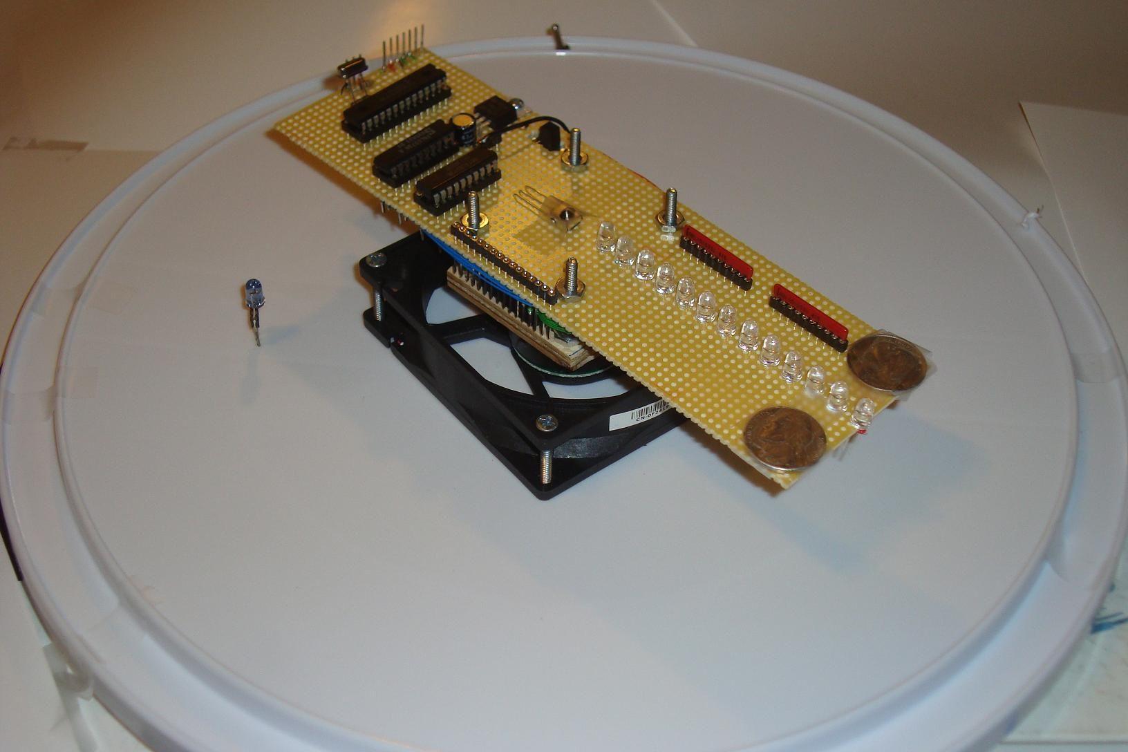 Pyro Propeller Clock Pov