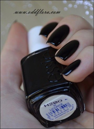 Nail Polish of the Moment: Essie Licorice. Wearing this for the ...