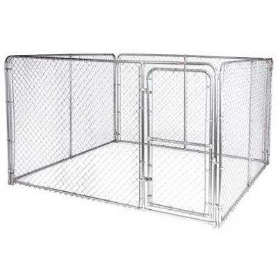 10 X 10 X 6 Ft Dog Kennel System Silver Series Dog Kennels And Crates Dog Kennel Dog Kennel Cover