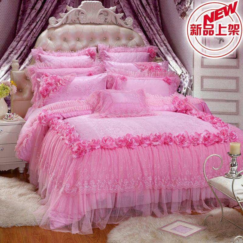Romantic Ruffle Comforter Set