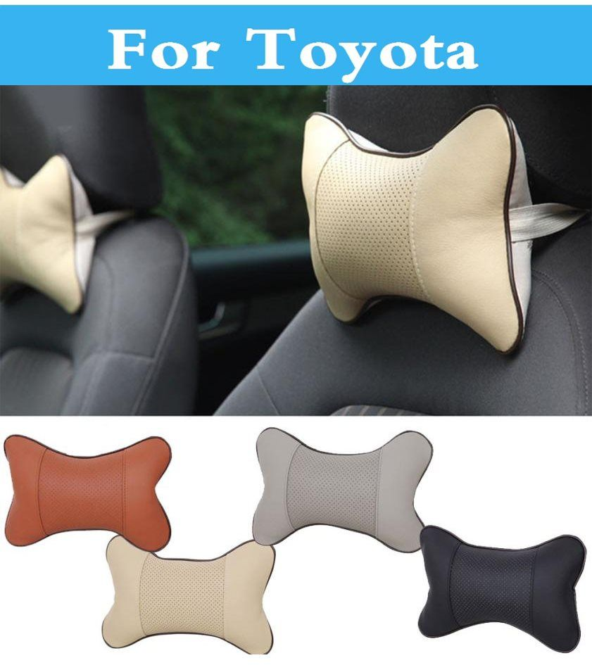 Car Seat Cushion Pillow Pad Headrest Pillow Pad For Toyota Soarer Sequoia Sprinter Carib Succeed Urban Cruiser Vanguard Car Seat Cushion Headrest Car Seats