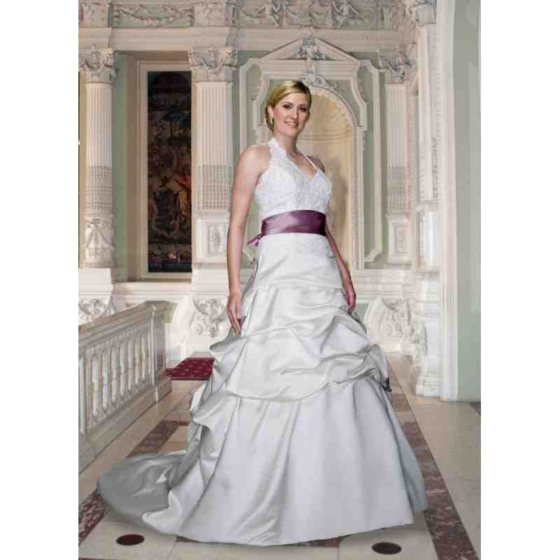 Wedding Dresses With Purple Accents | purple wedding dress ...