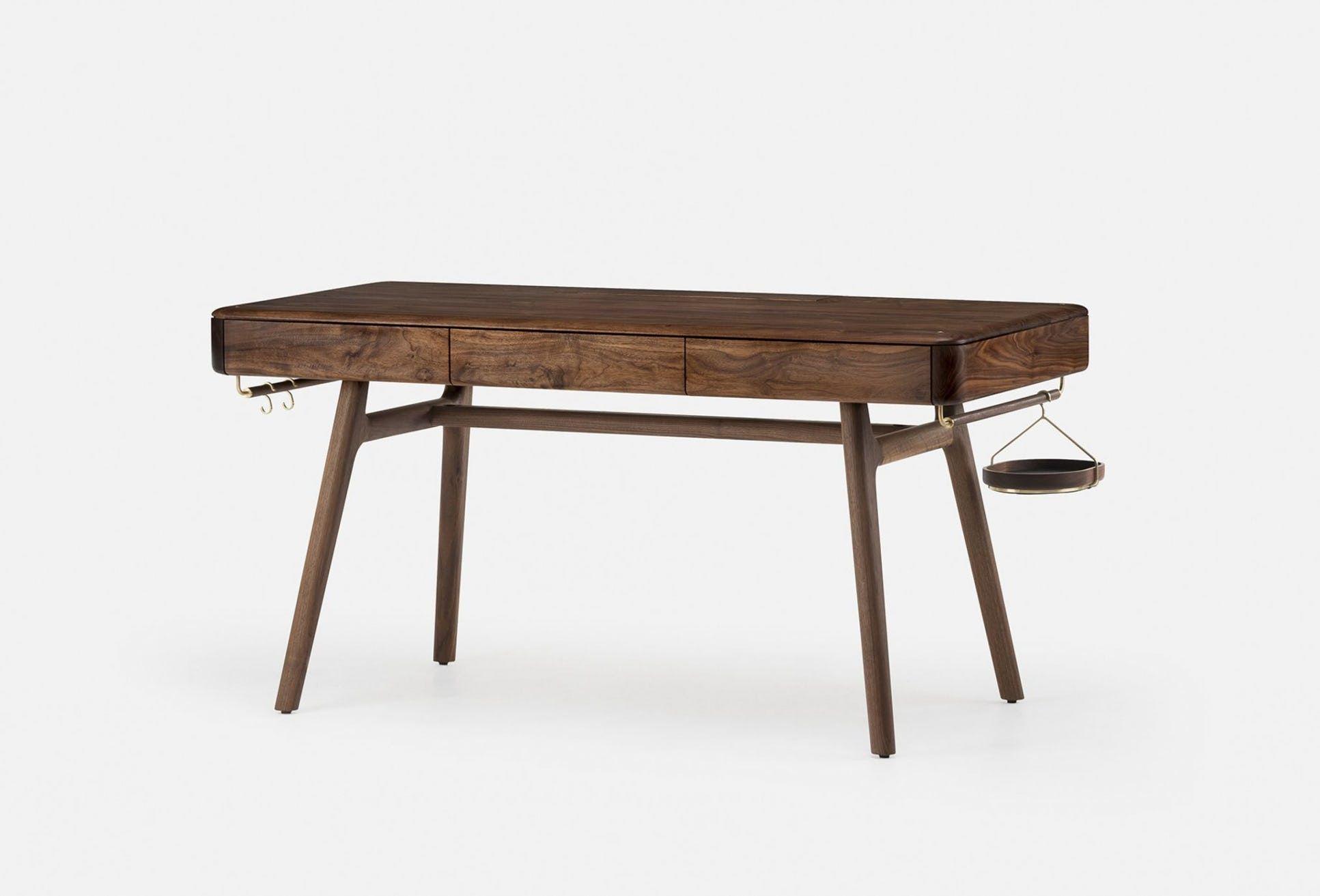 Solo desk by de la espada now available at haute living de la