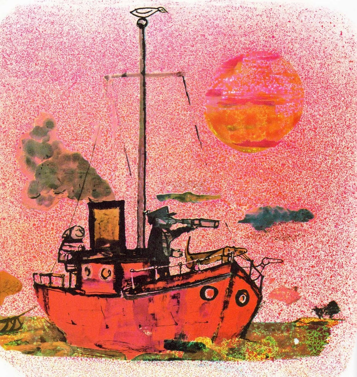 """John Burningham """"Borka: The Adventures of a Goose With No Feathers"""""""