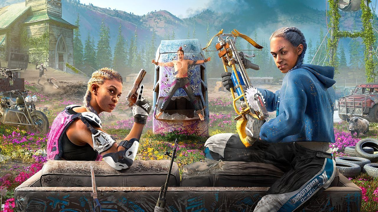 Far Cry New Dawn Benchmarked 1080p 1440p 4k All Tested Far Cry Game Camera Wallpaper