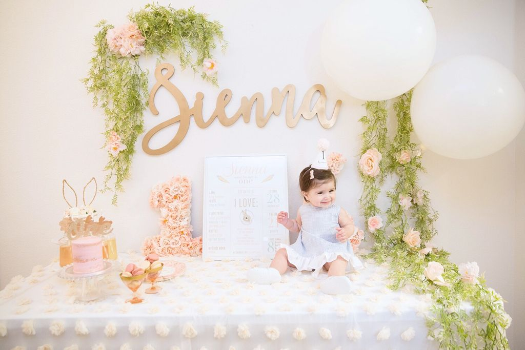 Some bunny is ONE! {Sienna\'s 1st Birthday}   Design + Florals by ...