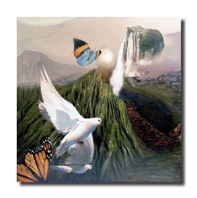 Artist: Diane Naylor, Title: Peace - click for larger image