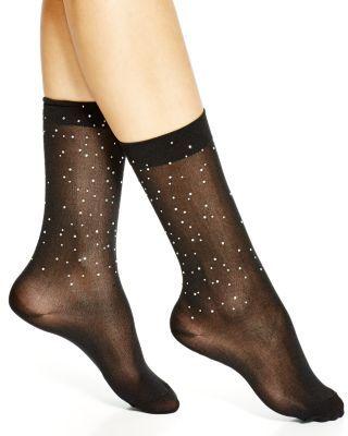 kate spade new york Falling Rhinestones Trouser Socks | Bloomingdale's