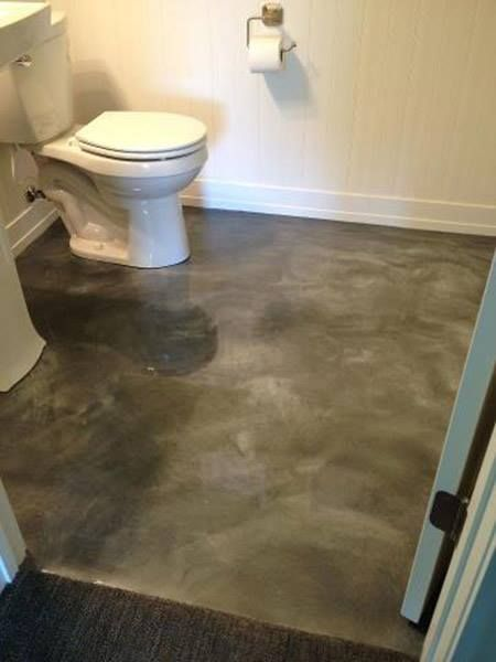 Metallic Epoxy Flooring Las Vegas Concrete Bathroom Floor Decor