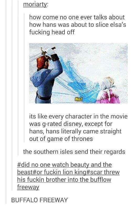 Alternative Disney dump
