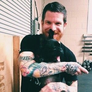 Andy Hurley With This Dog Reminds Me Of Josh Dun With Cats