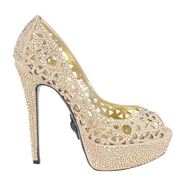 8495cc515 Philipp Plein – Ice Crystal Heels Philipp Plein Shoes, Ice Crystals, Platform  Pumps,