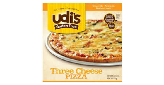 image relating to Gluten Free Coupons Printable named Contemporary Udis Gluten-no cost Pizza Coupon + Comprehensive Food Package