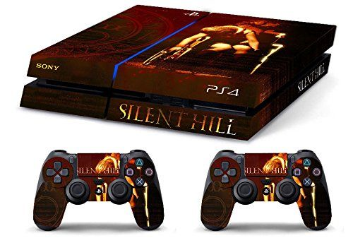 Skin Ps4 Hd Silent Hill Retro Limited Edition Playstation 4 Cover Decal Playstation Playstation 4 Retro