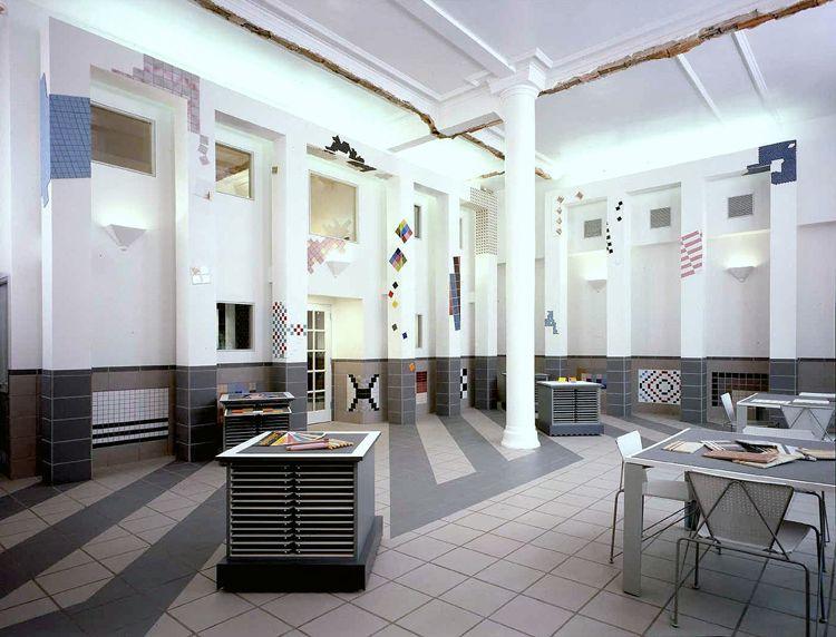 United Ceramic tile | Show room | Pinterest | Showroom, Construction ...