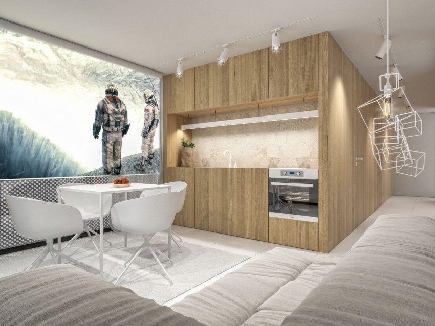 Sencilla y moderna casa de un piso de 46 metros cuadrados, descubre ...