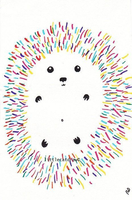 Hedgehog Print Colorful Hedgehog Illustration Hedgehog Art Print Wall Art Bedroom Decor Woodland Animal Home Decor Rainbow Decor -  Colorful Hedgehog Art Print Illustration Hedgehog Art Print Wall Art Hedgehog…  - #animal #Art #Artists #Bedroom #Ceramics #Colorful #decor #FashionTrends #Hedgehog #home #illustration #Pottery #Print #Rainbow #RunwayFashion #wall #Women'sStreetStyle #Woodland