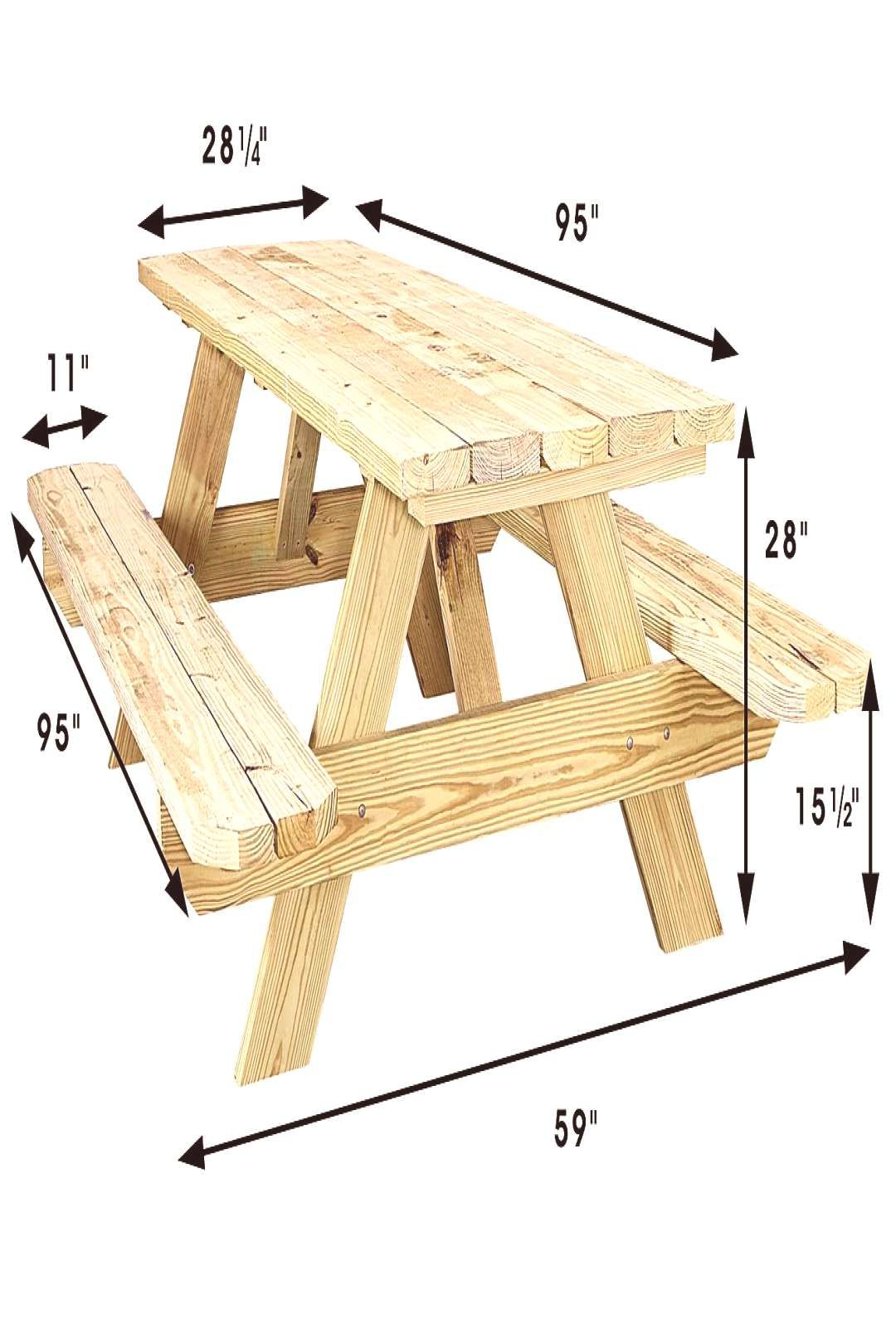Economy Aframe Wooden Picnic Table H5163 Uline 8 Economy A