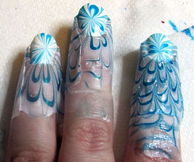 Water Marble: A Burst of Blue | Blue and, Water and Marbles