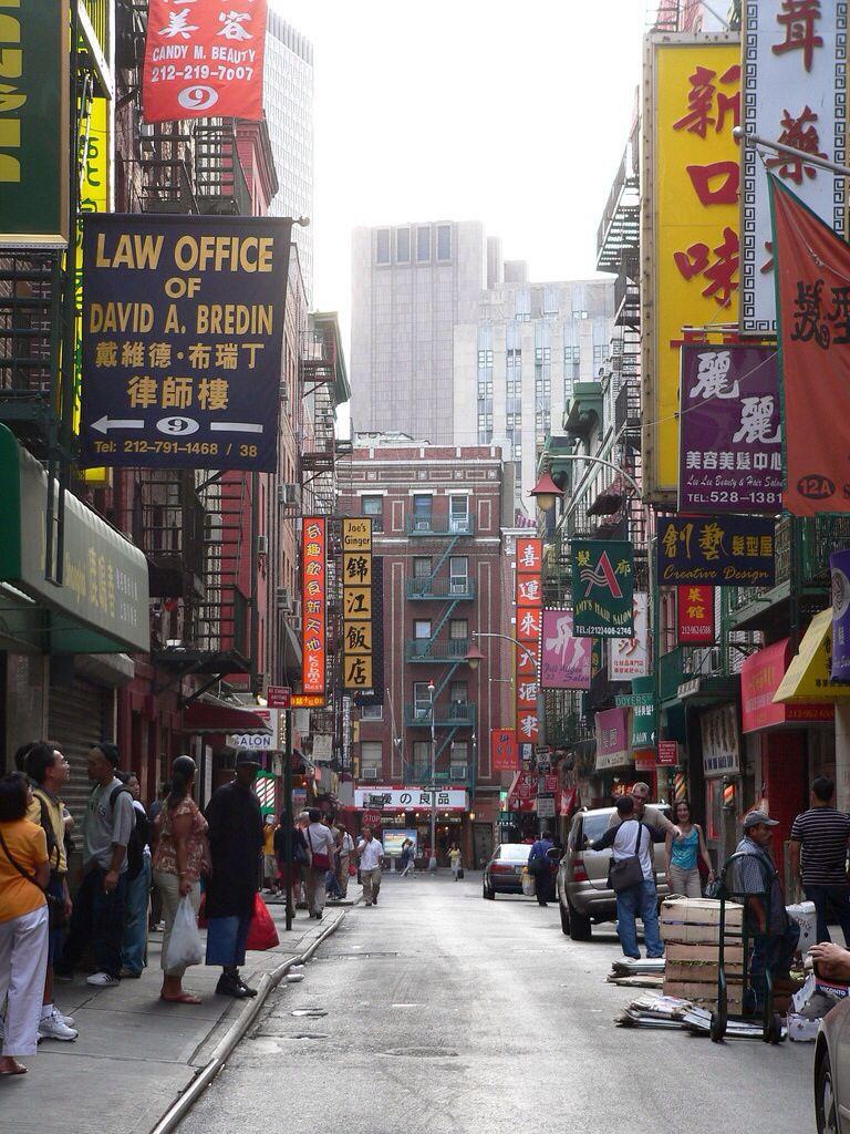 Nyc Chinatown Chinatown Nyc New York City City