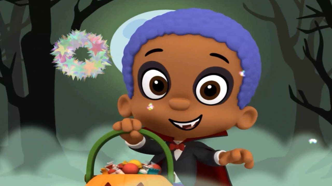 Bubble Guppies Halloween Time Super Puzzle Nickjr Nursery