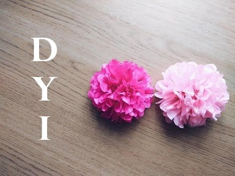 Diy Tissue Paper Flower Tutorial Simple And Easy Tutorial How To