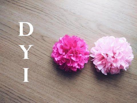 Diy tissue paper flower tutorial flowers pinterest tissue diy tissue paper flower tutorial mightylinksfo Images