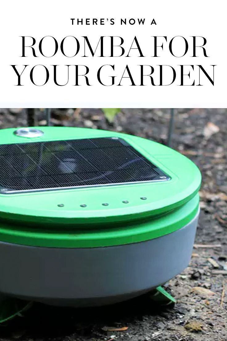 this roomba for your garden can be your weed warrior good things rh pinterest dk