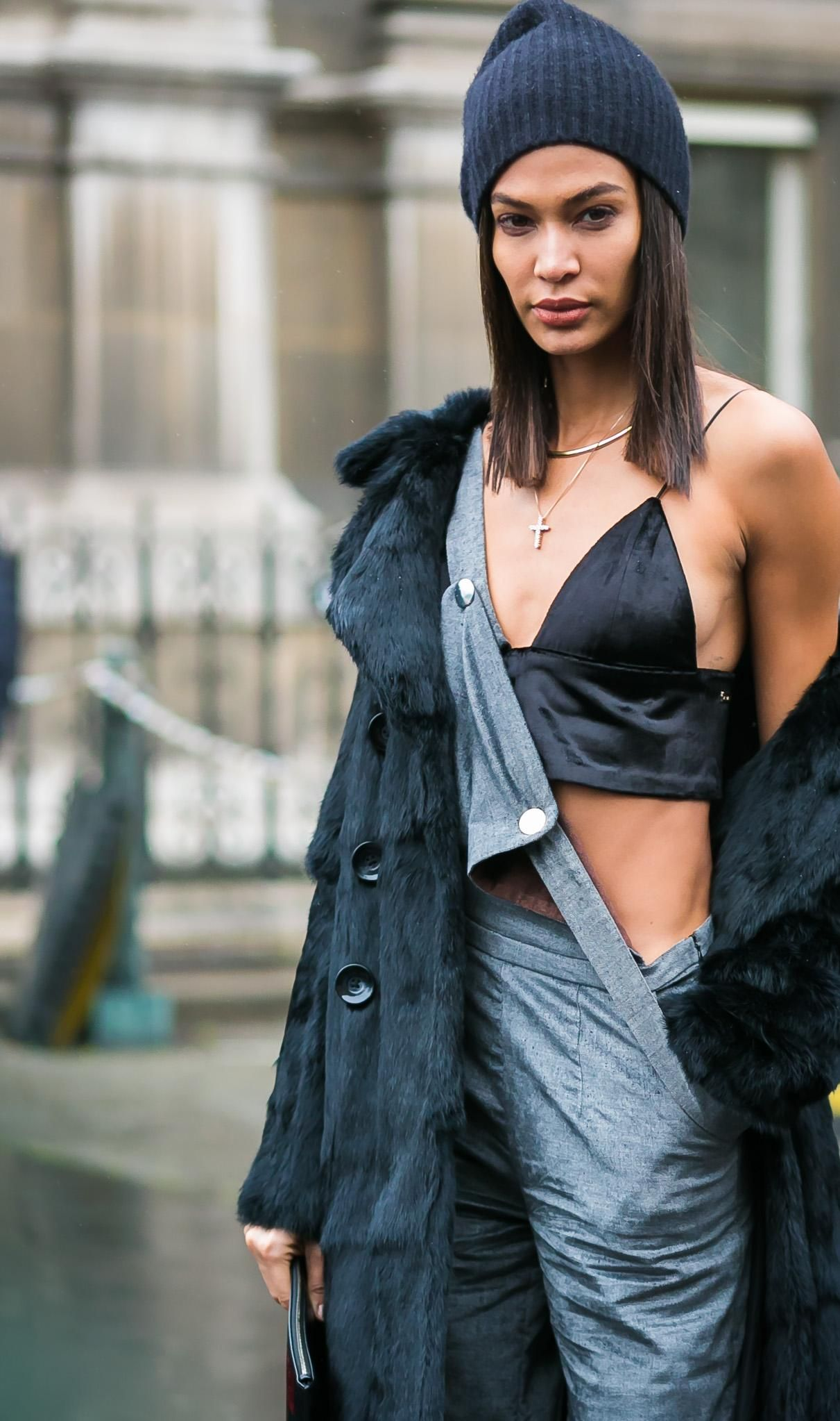 The 9 Best Celebrity Street Style Moments From Fall 2017 Fashion ...
