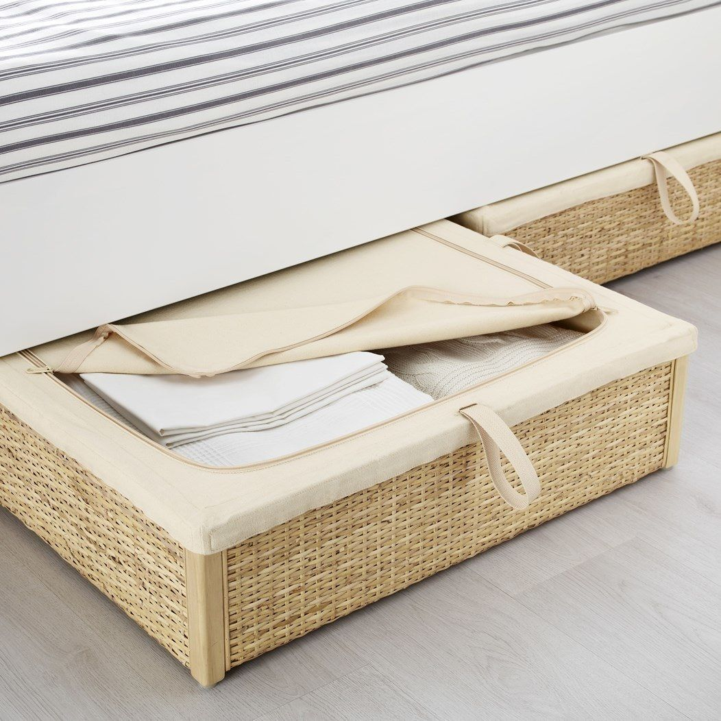 The Prettiest Underbed Storage Out There | Pinterest | Para el hogar ...