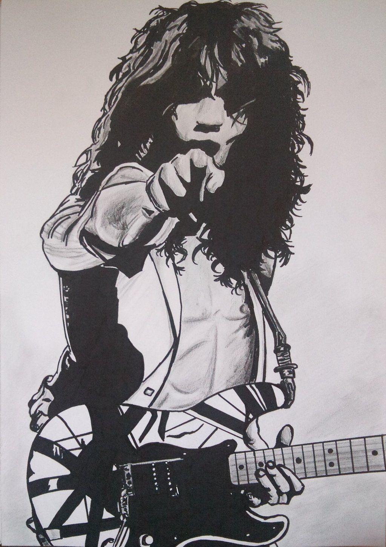 Eddie Van Halen Ii By Sheena7 On Deviantart Eddie Van Halen Van Halen Halen