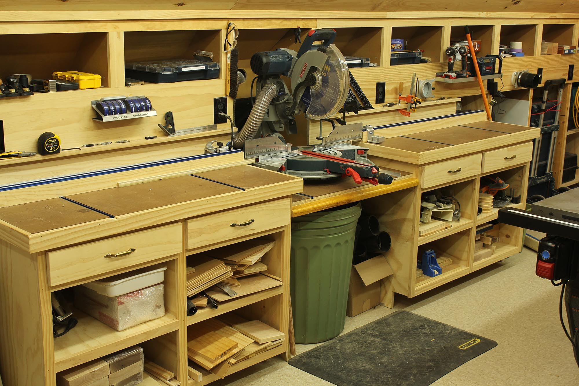 Woodshop Workshop 2nd Floor Of Garage Woodworking Shop Layout Shop Layout Wood Shop