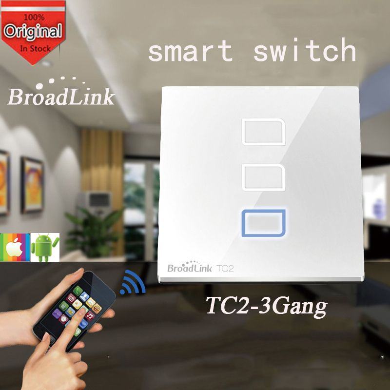 Broadlink TC2 3 Gang,Switch Relay, Wireless Remote Control Network ...