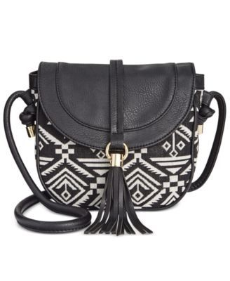 1504df2288f8 INC International Concepts Lottey Saddle Crossbody, Only at Macy's | macys .com