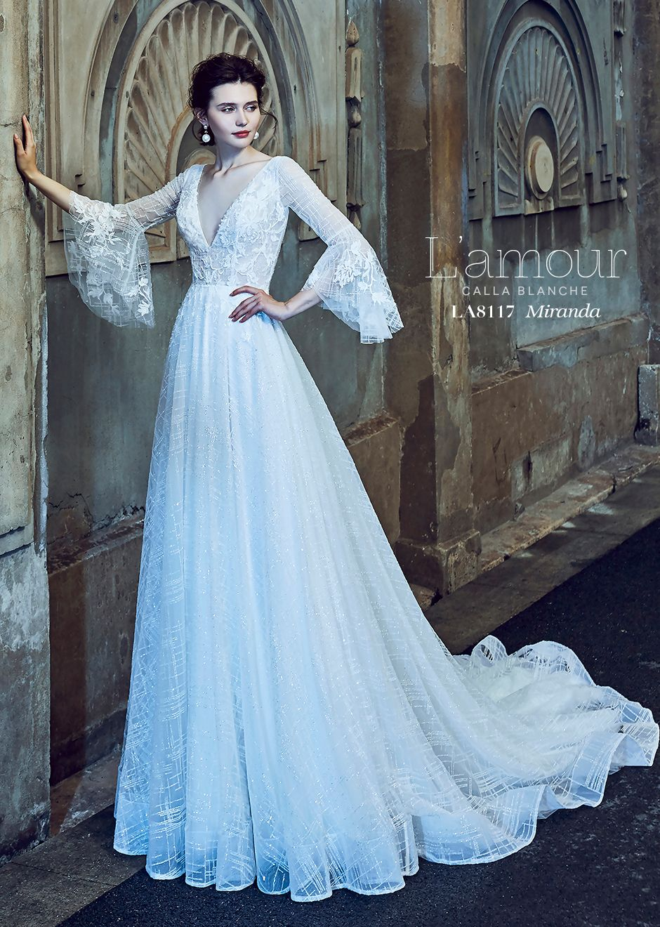 Conservative wedding dress  Luamour Spring  Collection  Wedding Dresses For Todayus Bride