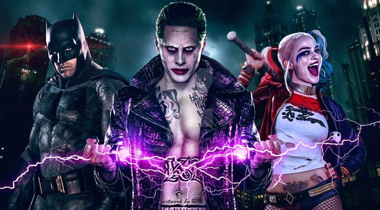 Suicide Squad Joker Batman Margot Robbie As Harley Quinn wallpaper ...