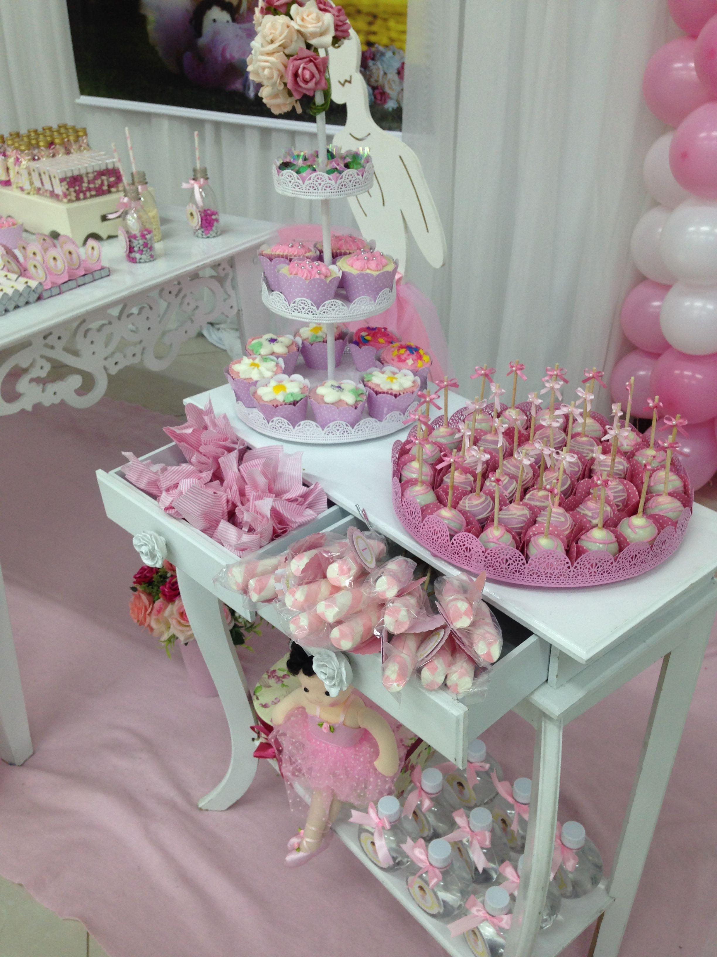 Baby Shower Ballerina Birthday