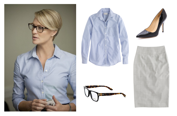 Dress like House of Cards' Claire Underwood | Shop the look