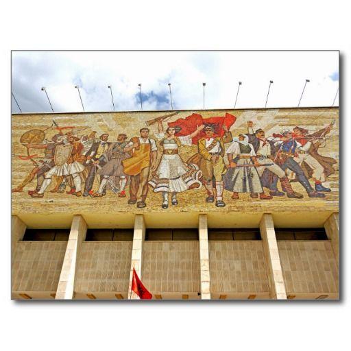 Albania  - The Albanians Mosaic Carte Postale