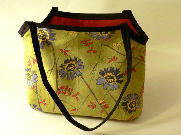 Tutorial de bolsa de lino con cremallera  – Bolsa