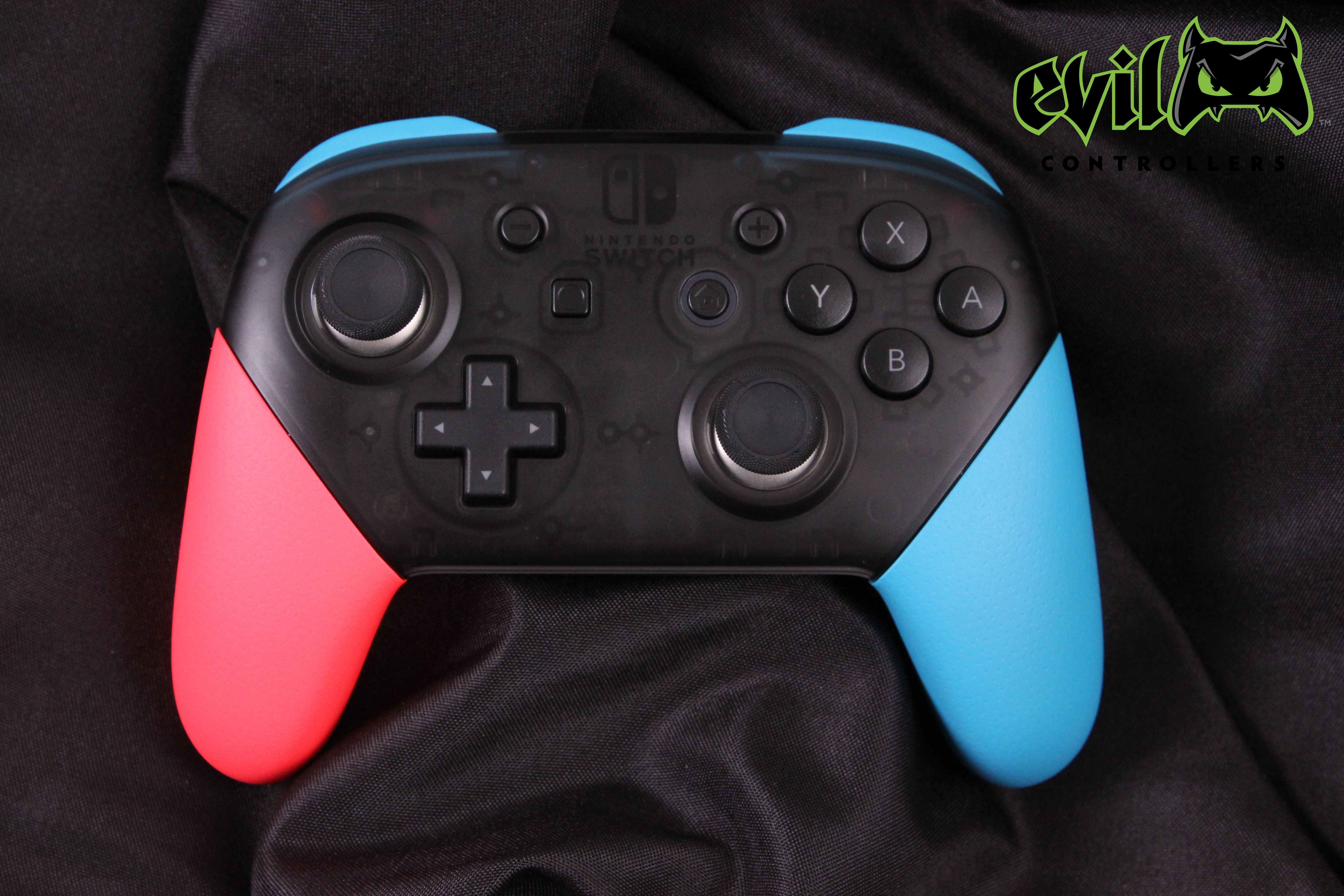 Nintendo Switch Neon Pro Controller By Evil Controllers Ps4 Or Xbox One Nintendo Switch Control