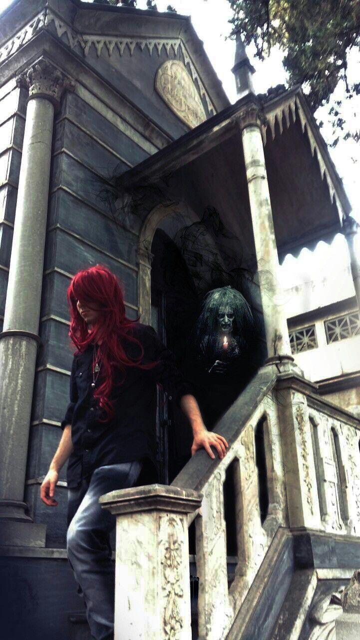 Espectro #vampiro #oscuridad #redhair #Bernard #Lesath | Caballero ...