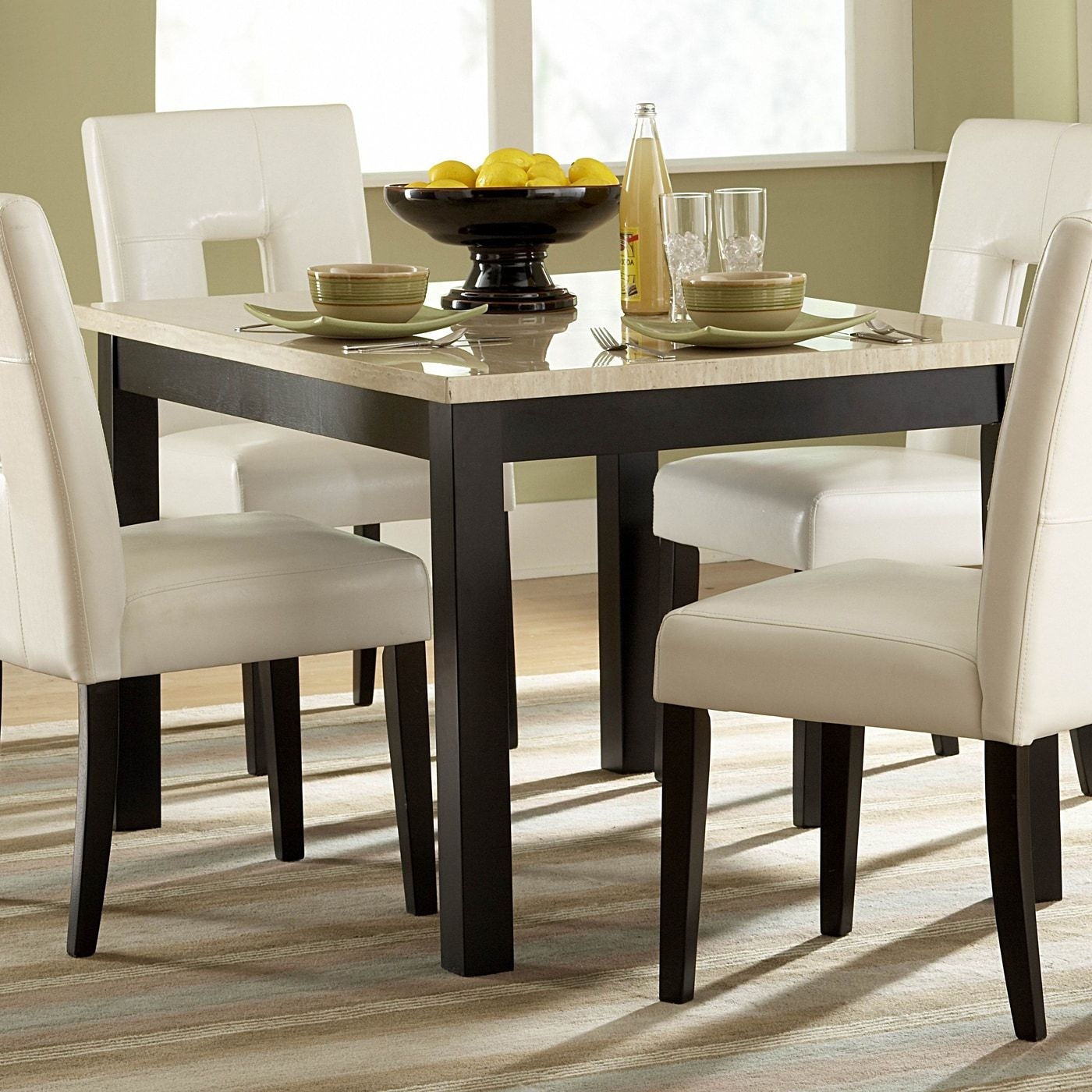 Shop homelegance 3270 48 archstone faux marble dining table at the mine browse our dining tables all with free shipping and best price guaranteed