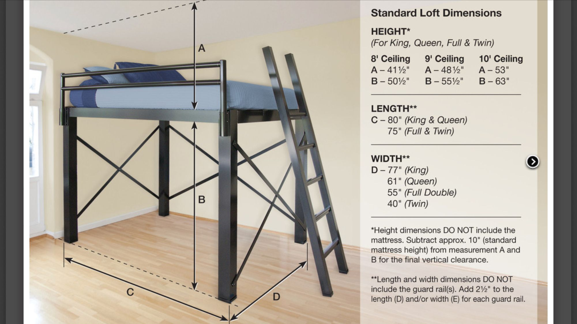 Loft Beds For Adults Adult Loft Bed Queen Loft Beds Loft Bed Frame