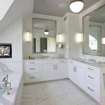 Cute L Shaped Bathroom Vanity For Your Inspirational Home Decorating With