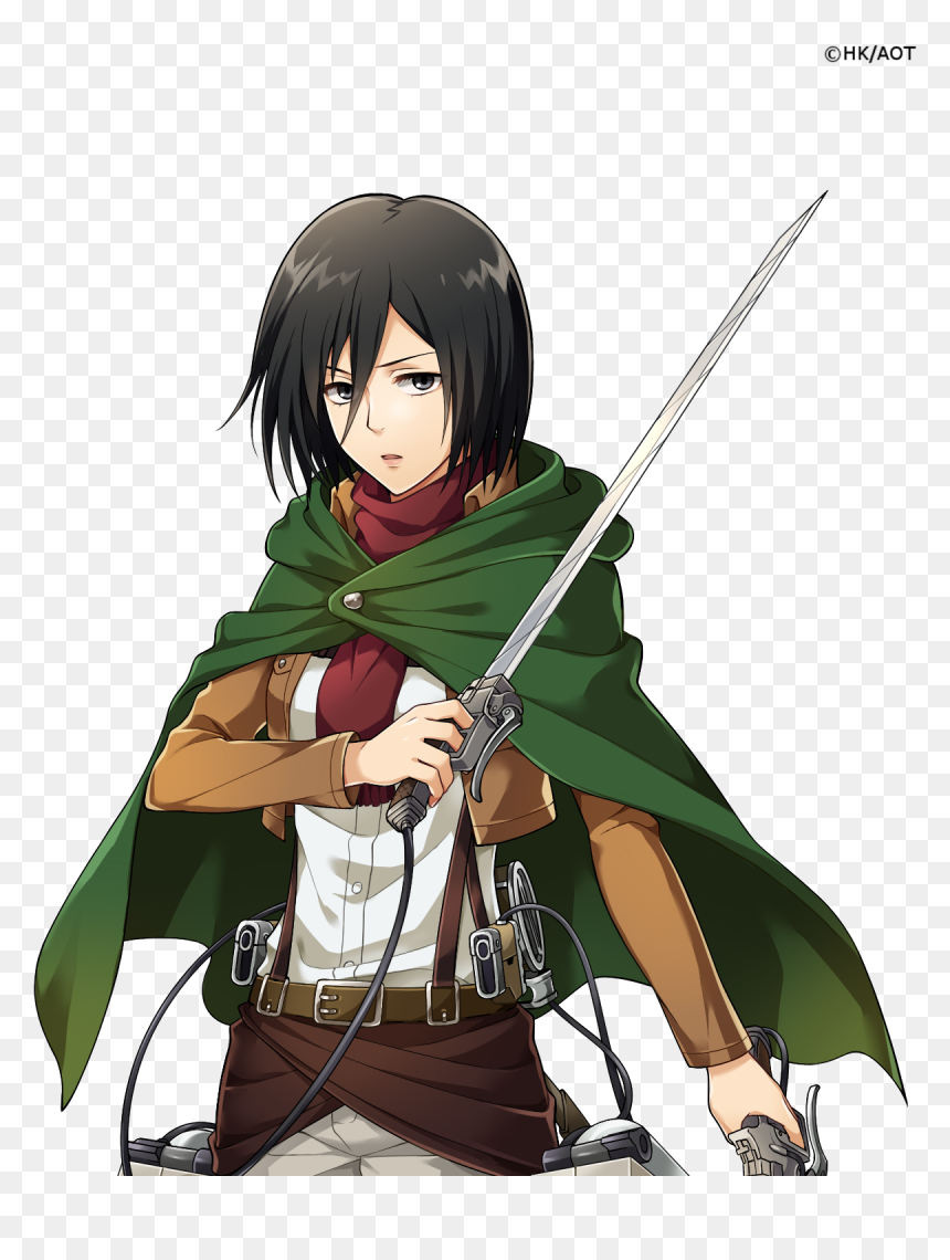 Change the background animation settings between the wallpapers to show the animation. Mikasa Transparent Background, HD Png Download free ...