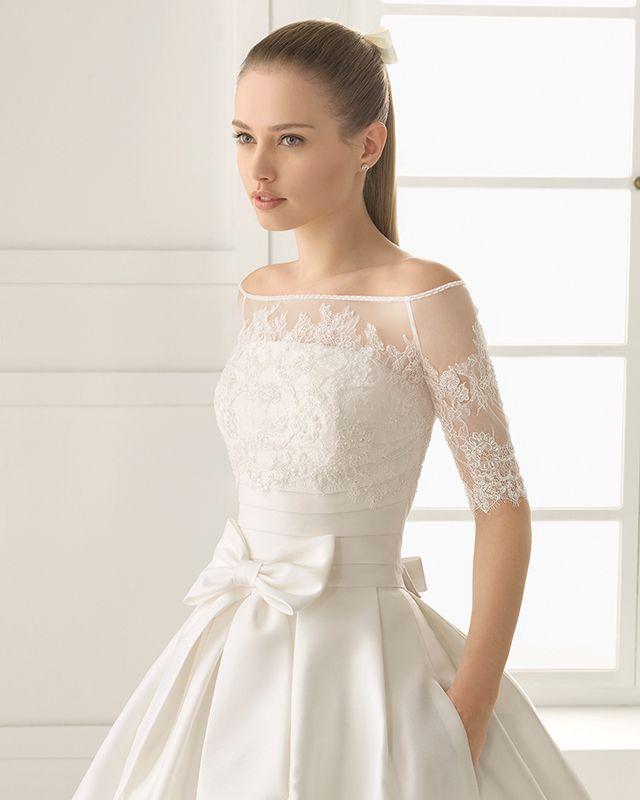 Tipo de escote para tu vestido de novia