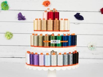 Check out Aurifil 50wt Cotton Mako Thread 1422 yd Spool on