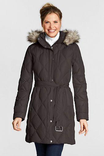 d6ed58cf7294 Women's Diamond Down Coat from Lands' End | Present List | Down coat ...